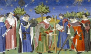 Astrologi medievale e Geometri al lavoro