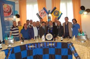 tavolo dirigenza Inter Club Francavilla e ospiti