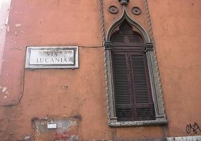 """Foto di Rino Fortunato """"Via Lucania -Roma-"""