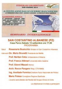 Manifesto Convegno Itinerari Gramsciani