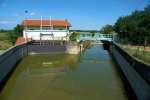 centrale idroelettrica realizzata nel comune di Genivolta (CR)