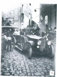"""selciato in via Roma """"foto del libro - lo sguardo ritrovato di F. Di Nubila-"""""""