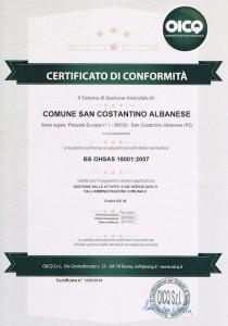 Certificazione sistema di gestione della sicurezza e salute sul lavoro (1)