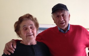 Giovanni Donadio e sua moglie Ida