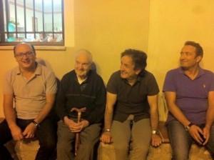 Carmine Lecce con i suoi 3 successori