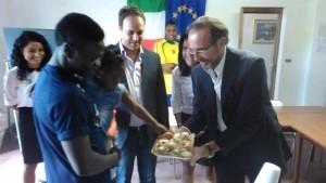 5.9.2015 visita del vice ministro Nencini a Latronico, Idee e progetti per una buona integrazione.