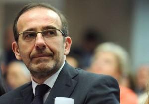 Riccardo Nencini - vice ministro delle infrastrutture e dei trasporti -