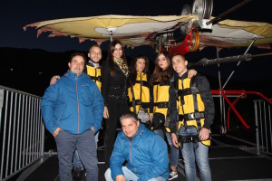 Manuela Arcuri al Volo dell'Aquila