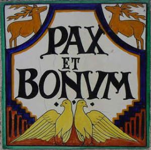 pax_et_bonum