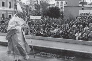 Papa Giovanni Paolo II a Matera