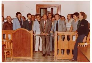 insediamento Amministrazione Sinistra Unita 1978