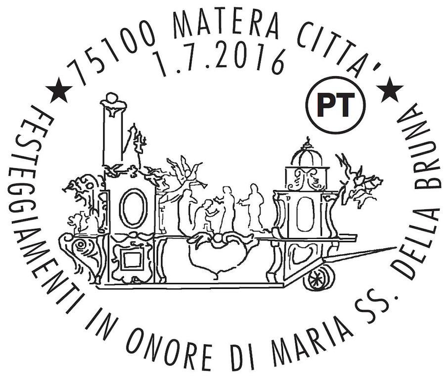 filatelico Patrona di Matera 2016