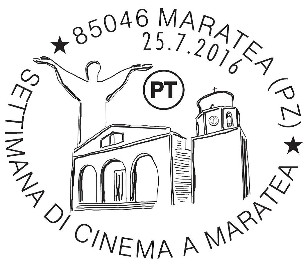annullo Settimana Cinema Maratea - 2016