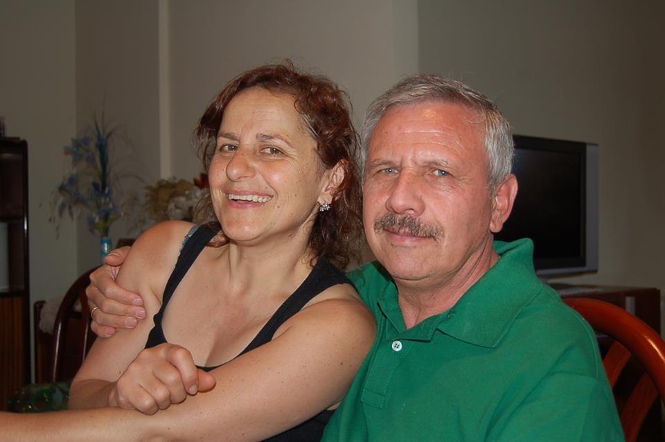 """Vincenzo Di Stabile e la moglie Cristina """"foto di Antonio Grimaldi"""""""