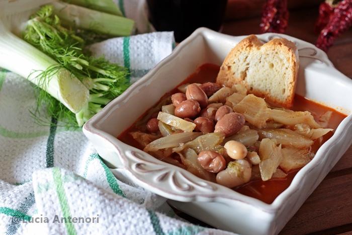 zuppa di finocchi e fagioli