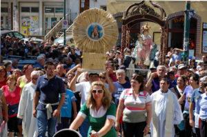Processione della madonna di Pompei