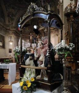 Madonna di Pompei in Chiesa a Bioglio