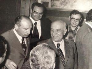 V. Verrastro - Amintore Fanfani segretario DC-  Imperio Napolitano segre. Prov. DC